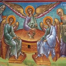 Η φιλοξενία του Αβραάμ και η φανέρωση της Αγίας Τριάδος